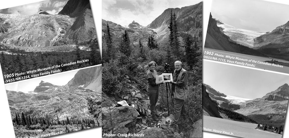 100 Years of Glacier Change in the Canadian Rockies